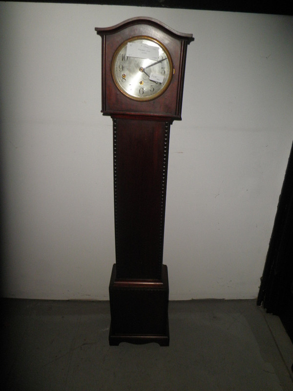 Walnut Antique Grandmother Clock