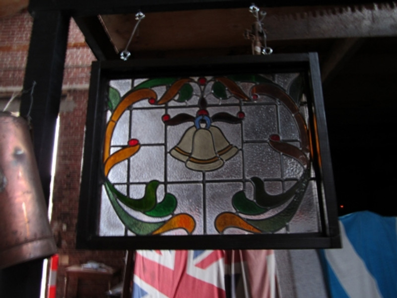 Edwardian Stained Glass Leadlight