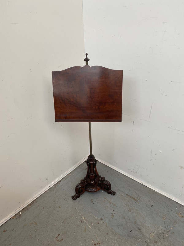Beautifully carved music stand