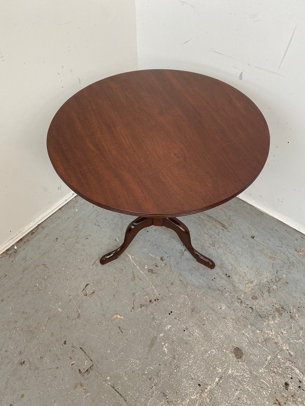 Mahogany Georgian wine table