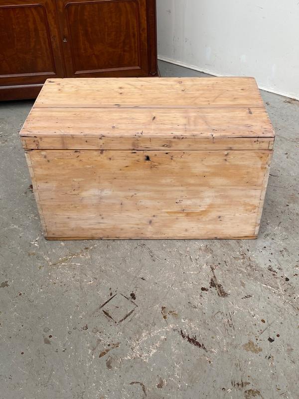 Victorian pine glory box
