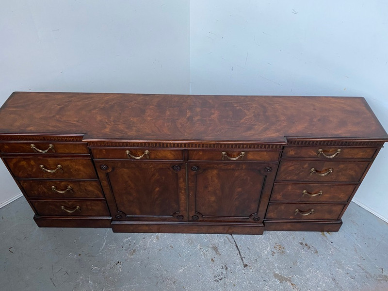 """""""Althorp"""" flame mahogany grand sideboard"""