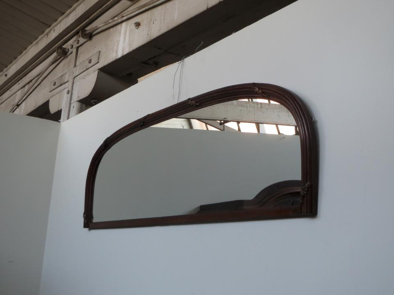French oak mirror.