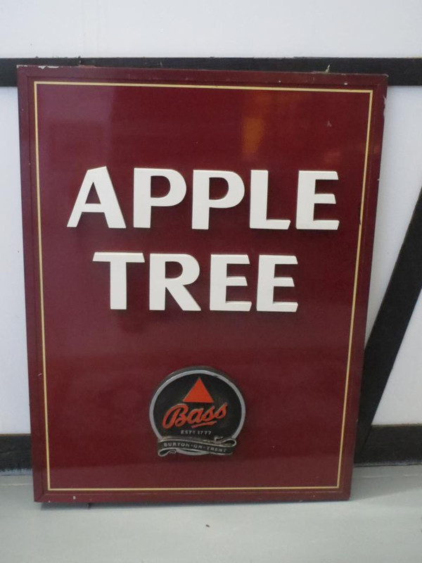 Apple tree pub sign