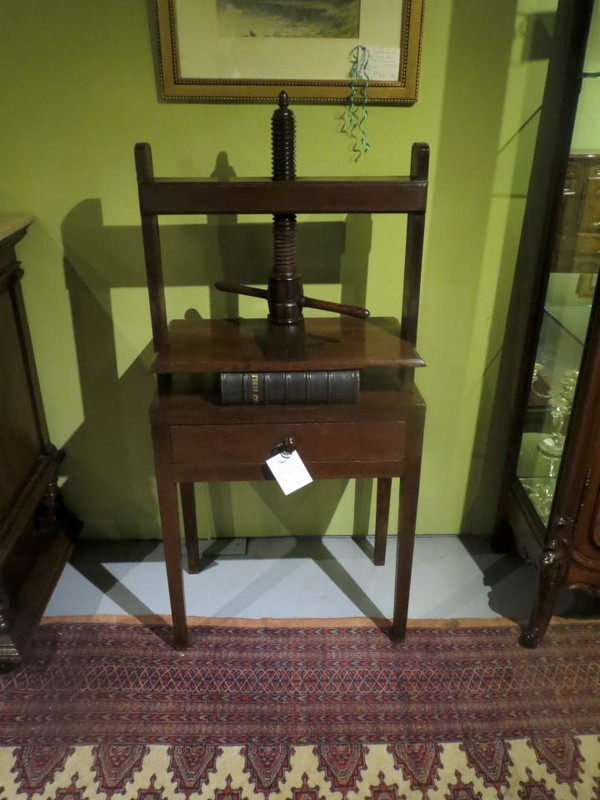 A very rare Book Press