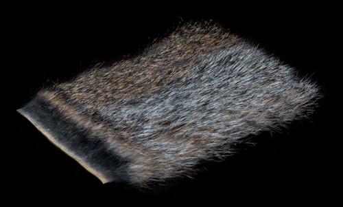 Wapsi Natural grey squirrel skin piece