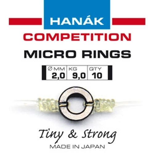 Hanak 2mm tippet rings
