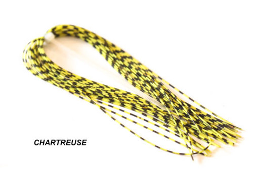 Hareline Medium Grizzly Barred Rubber Legs