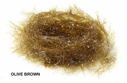 Hareline Polar Chenille - Olive Brown