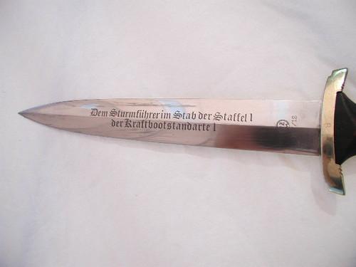 NSKK Honor Dagger Original parts questionable etch#658