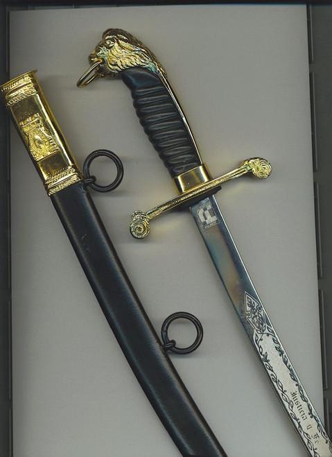 Argentine Penitentiary Service NCO's dagger#720