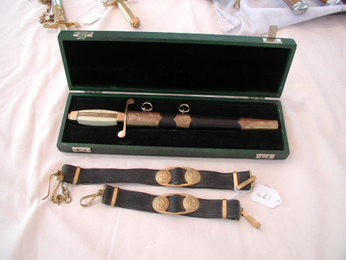 Boxed Bulgarian Naval Dagger model 1952 with hangers #472