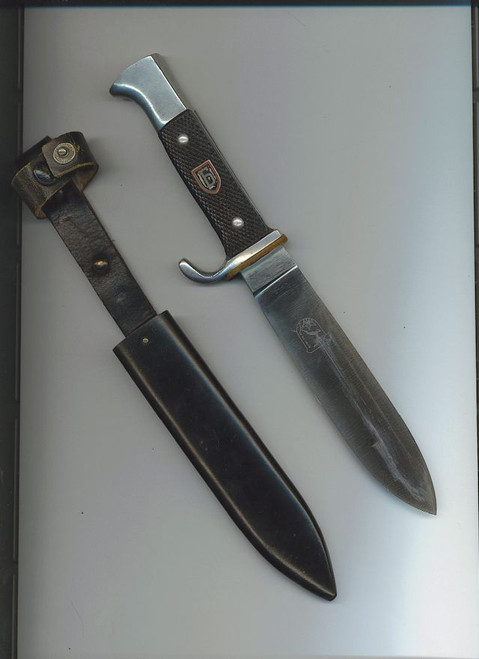 Bulgarian Brannik Youth knife  #402