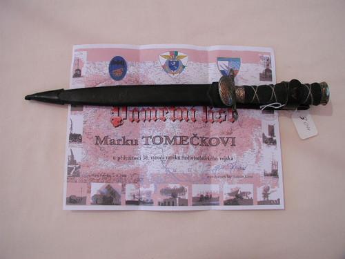 Czech Republic radio technique 50 year dagger #519
