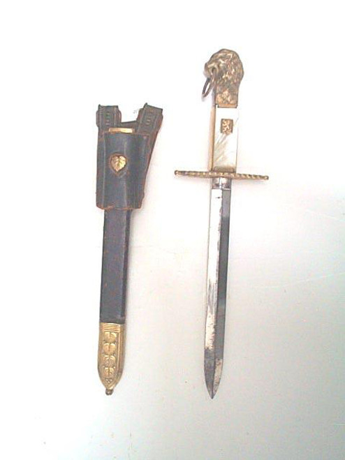 Czechoslovak Customs Service dress dagger model 1932  #295
