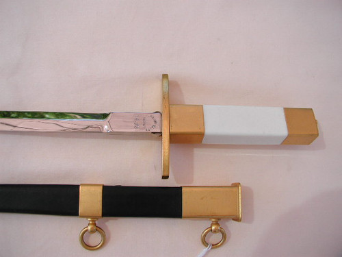 French AF Officers Dagger, Gold Portepee, and Hangers #479