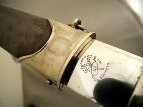 ASSO ( A. Schuttelhofer) Early SA Dagger#316