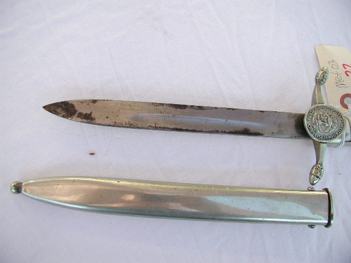 Mexican Cadet dagger of the Pentathion Military Academy#679