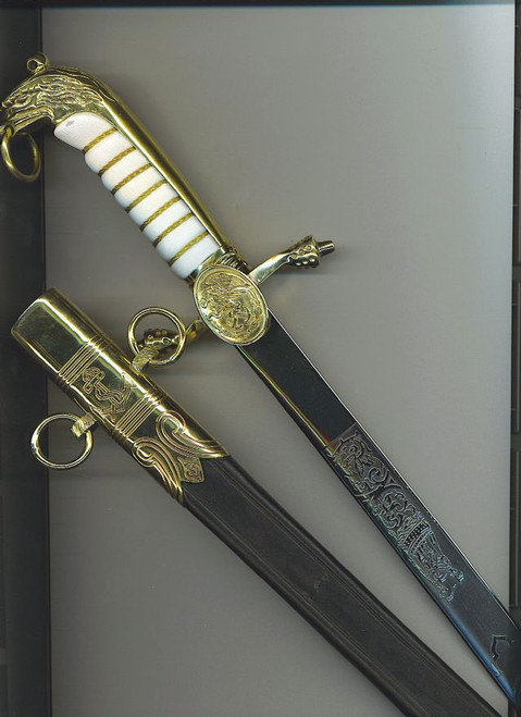 Mexican Navy Officer's dagger  #715