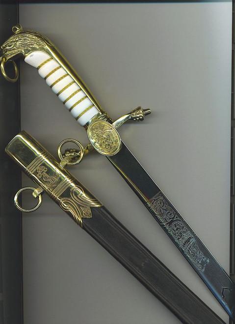 Mexican Navy Officer's dagger#715