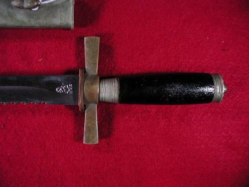 Imperial German Fireman's sidearm, dagger. WKC#490