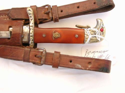 Royal Romanian Army NCO dagger#746