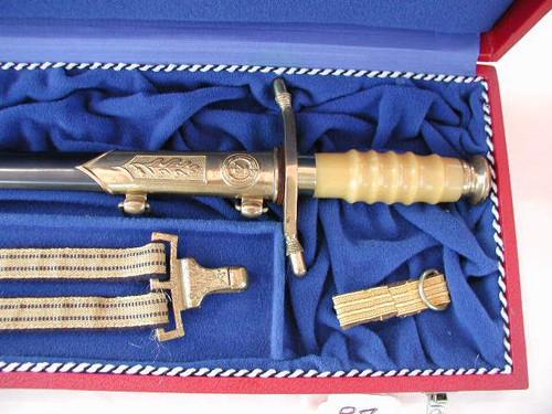 East German Officers Navy Admirals Dagger#445