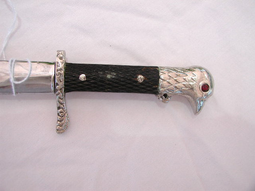 Royal Romanian Army NCO dagger with King Michael.#710