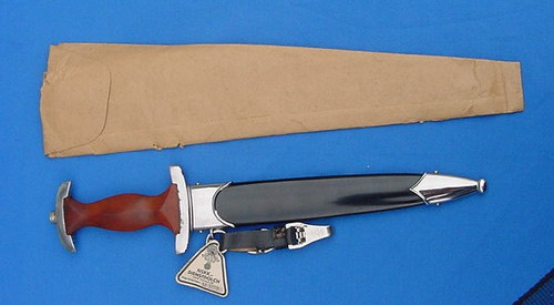 German Bagged And Tagged Nskk Dagger M7/73  #318