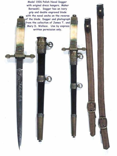 1926 Polish Naval Dagger#266