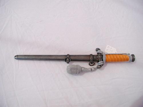 Army Dagger TM Gebru. Heller, Marienthal B.Schweina/Thr#611