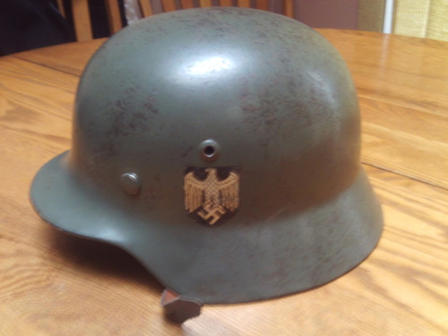 M35 WW2 German Heer Helmet Double Decal
