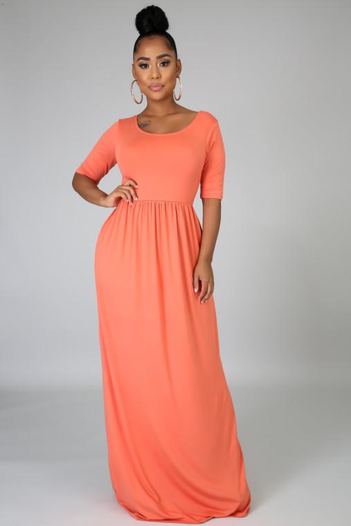 JUICY- Pocket Maxi Dress