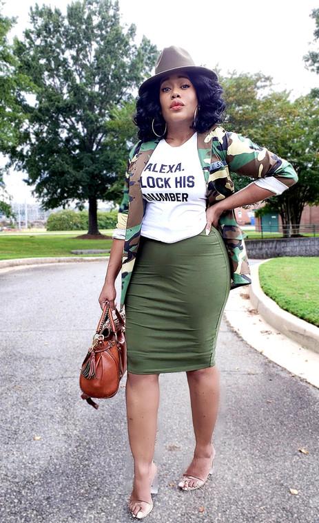 Fashionista- Midi Skirts