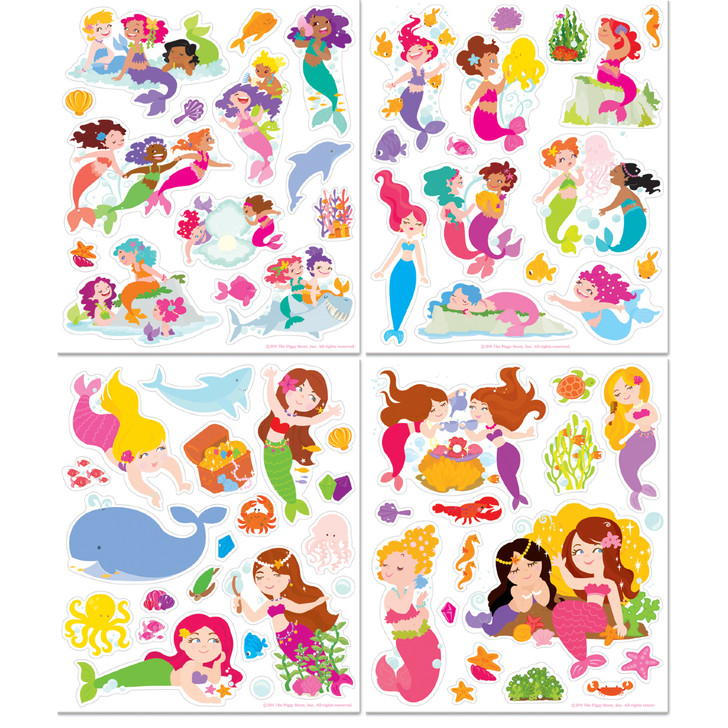 Sticker Activity Tote- Magical Mermaids