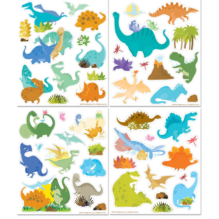 Sticker Activity Tote- Dinosaur World
