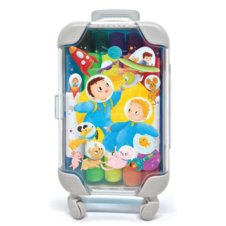 Space Adventure Color Pop Marker Suitcase