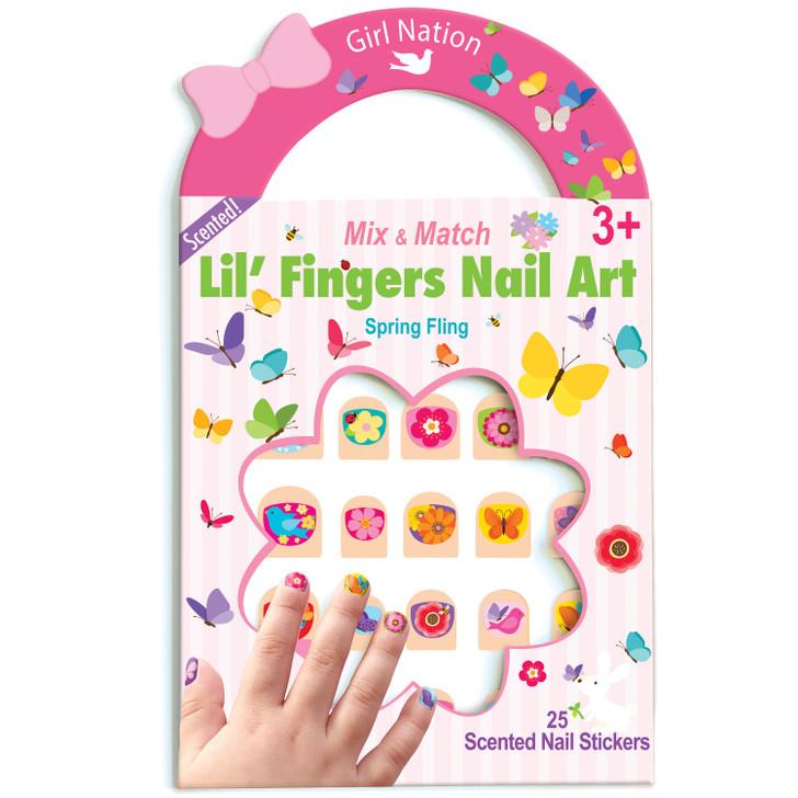 Nail Art- Spring Fling