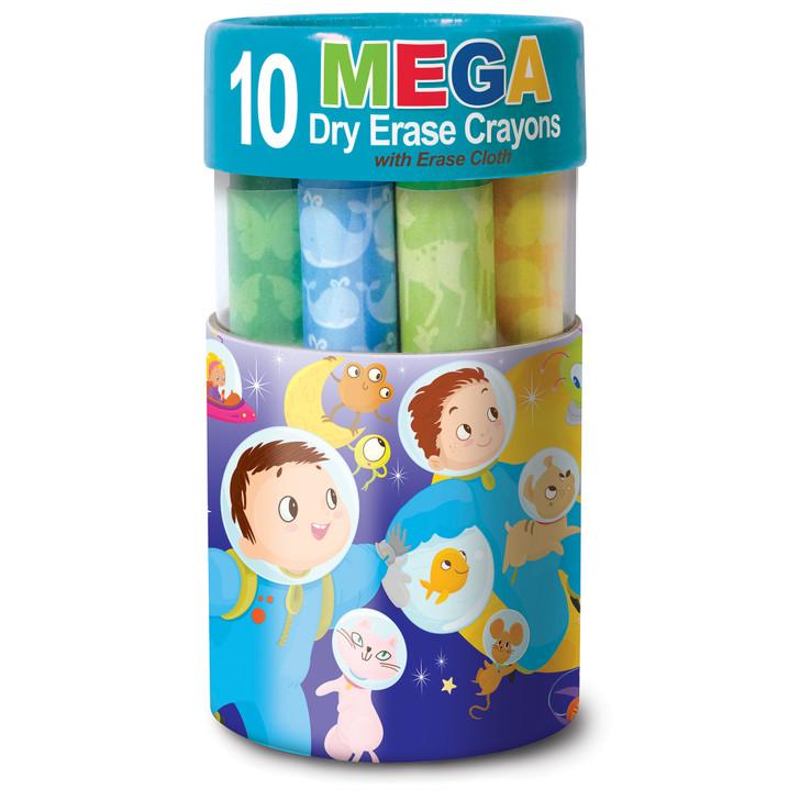 Space Dry Erase Mega Crayons