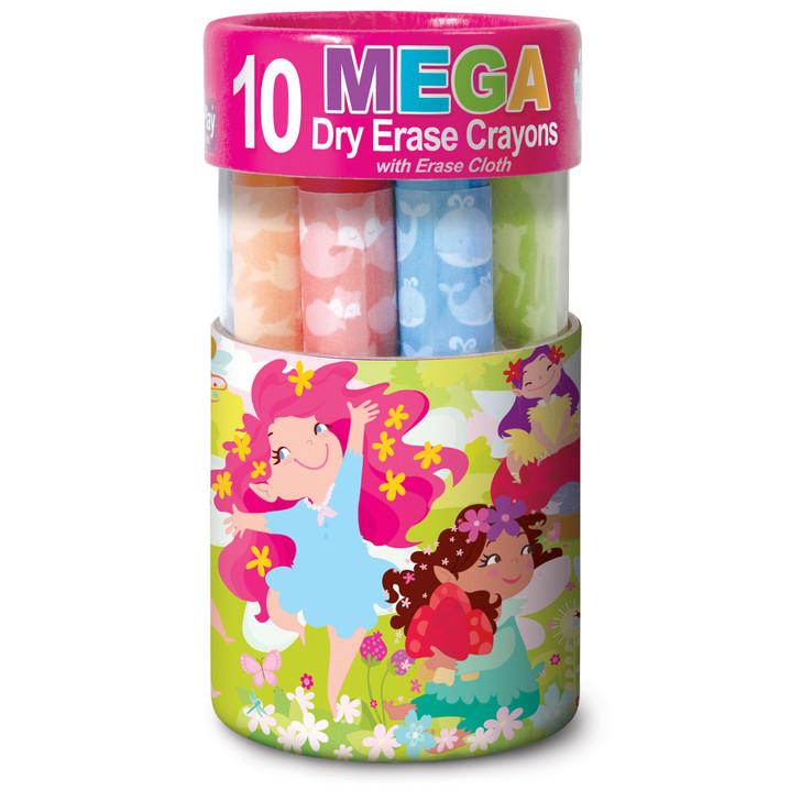 Fairy Garden Dry Erase Mega Crayons