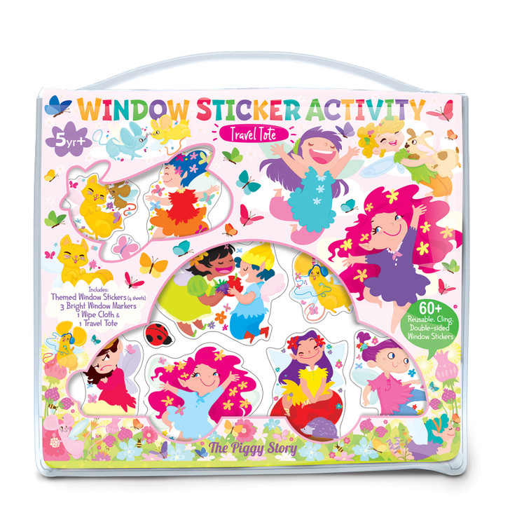 Fairy Garden Window Sticker Tote