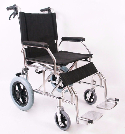 Lightweight Compact Travel Transit Wheelchair