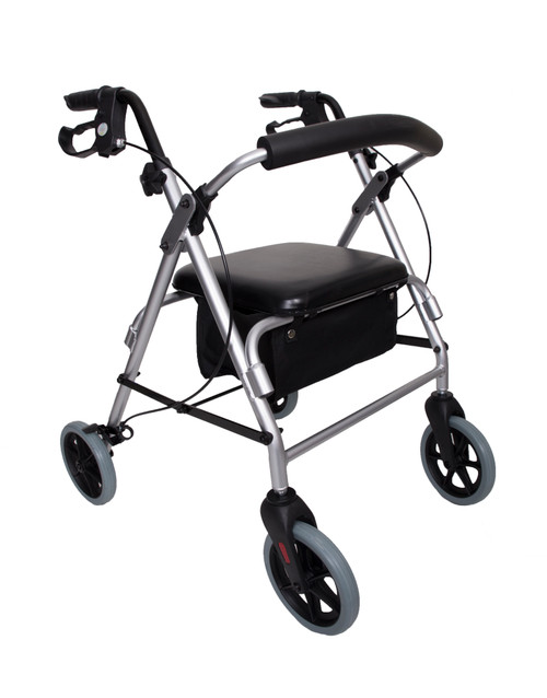 Four Wheel Rollator Walking Frame Zimmer
