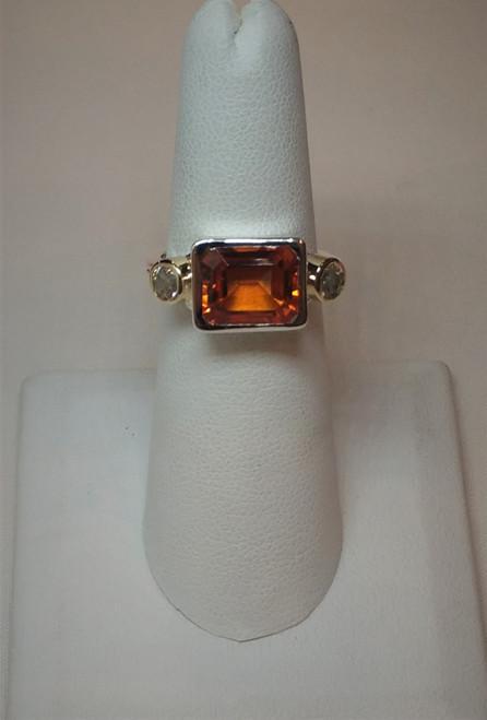 Autumn Topaz Ring