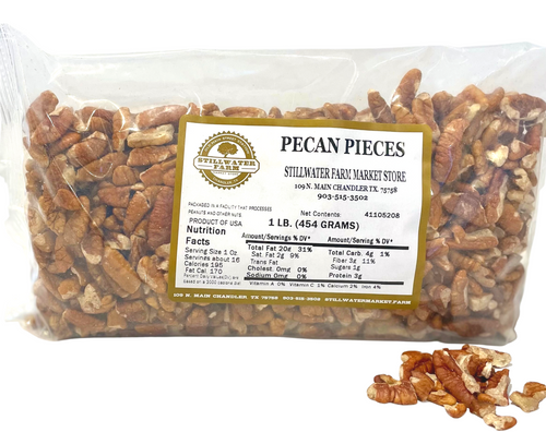 Pecan Pieces