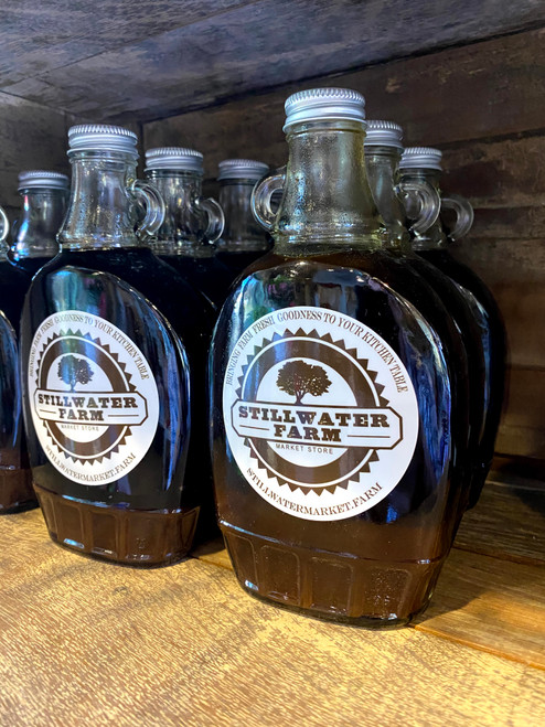 Ribbon Cane Syrup Bottles 18oz