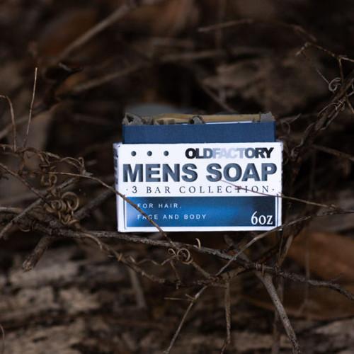 Men's Soap 3 Bar Collection