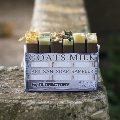 Goats Milk Artisan 6 Soap Sampler