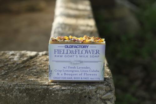 Field & Flower Goats Milk Soap