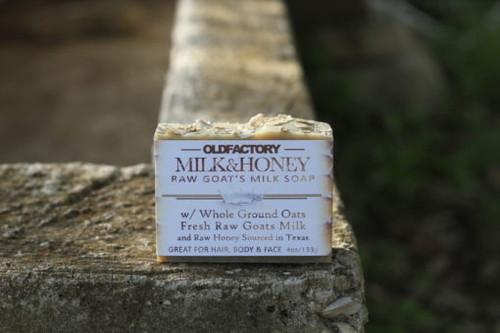 Milk & Honey Goats Milk Soap